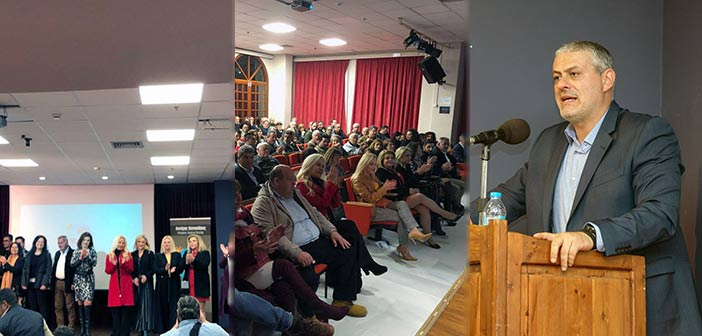 Ο Λ. Κοντουλάκος σε ανοιχτή συζήτηση με τους κατοίκους των Μελισσίων