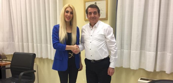 Υποψήφια με τον Κώστα Τίγκα η Ντένια Λεβέντη