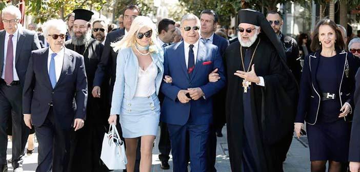 Μαζί με τους Μαρουσιώτες γιόρτασε την εθνική επέτειο της ελληνικής ανεξαρτησίας η Μ. Πατούλη