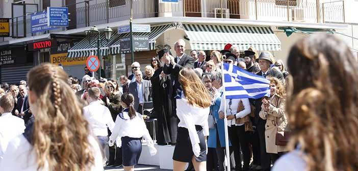 Με λαμπρότητα ο εορτασμός της 25ης Μαρτίου στον Δήμο Κηφισιάς