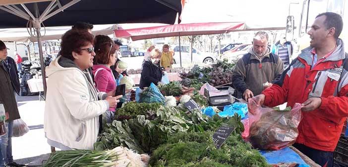 Τη Δράση Διάθεσης Αγροτικών Προϊόντων του Δήμου Αμαρουσίου επέλεξαν οι καταναλωτές για τις πασχαλινές αγορές