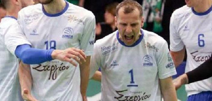 Στα ημιτελικά της Volley League ο ΑΟΠ Κηφισιάς με νίκη 3-1 επί του Παναθηναϊκού