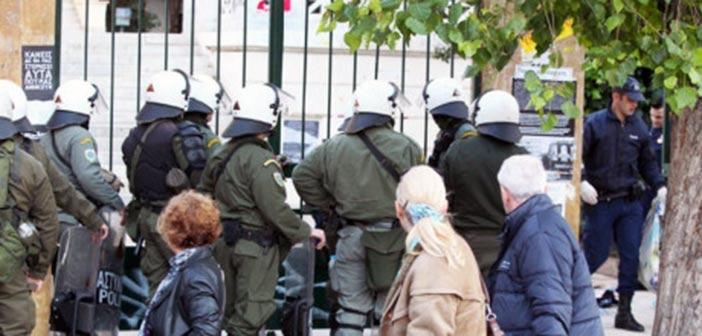 ΑΣΟΕΕ: Επίθεση σε ΑμεΑ και μολότοφ κατά των αστυνομικών