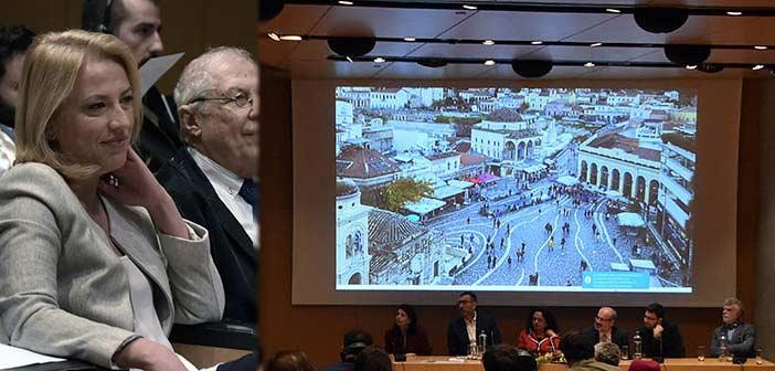 Ρ. Δούρου: Αγαπάμε τα μνημεία της Αττικής και τα κάνουμε ορατά