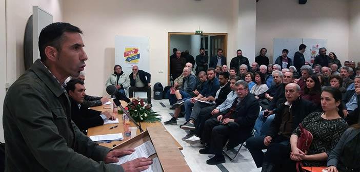 Η Λαϊκή Συσπείρωση Αμαρουσίου παρουσίασε το ψηφοδέλτιό της