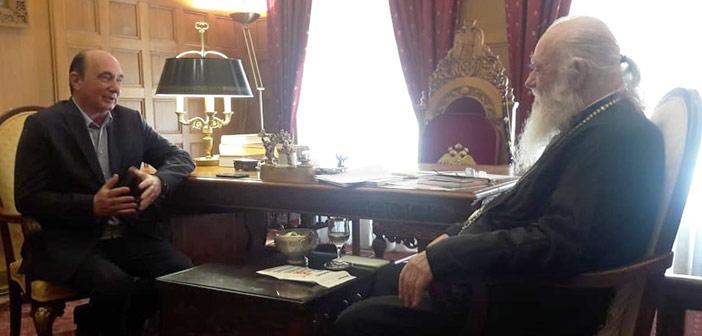 Με τον Αρχιεπίσκοπο Ιερώνυμο συναντήθηκε ο Γ. Κατσικογιάννης