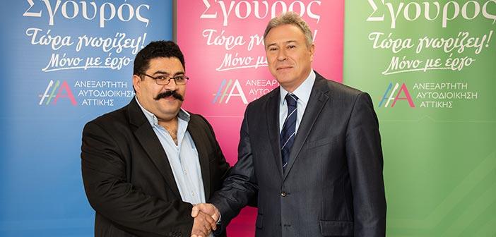Υποψήφιος στην Ανατ. Αττική με τον Γ. Σγουρό ο Κ. Κοντάκης