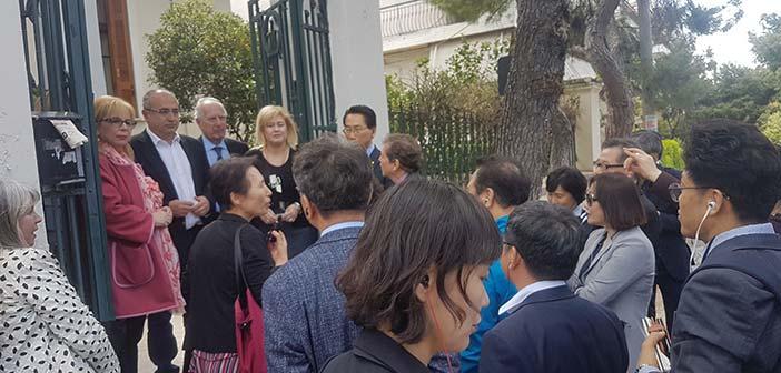 Νοτιοκορεάτες δήμαρχοι γνώρισαν τις δομές του Ηρακλείου Αττικής για τα άτομα Τρίτης Ηλικίας