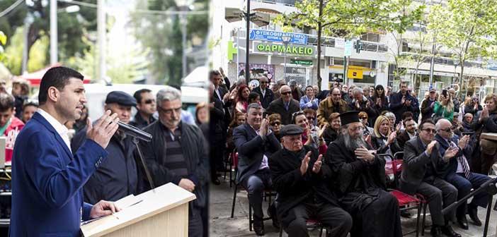 «Ραντεβού» στην κάλπη για τη μεγάλη Αλλαγή στην Αγία Παρασκευή έδωσε στους δημότες ο Γιάννης Μυλωνάκης