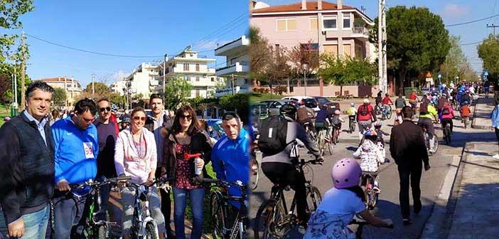 Περίπου 200 ποδηλάτες στον Ποδηλατικό Γύρο Βριλησσίων