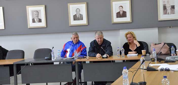 Ο πρόεδρος του ΣΠΑΠ στο ΣΤΟ Πολιτικής Προστασίας Δήμου Ραφήνας – Πικερμίου