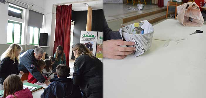 Στο Κρυστάλλειο Πεντέλης η εκπαιδευτική δράση ανακύκλωσης του ΣΠΑΠ