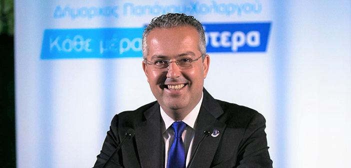 Ηλ. Αποστολόπουλος: Στηρίζουμε την τοπική αγορά, ενισχύουμε τα καταστήματα του Δήμου Παπάγου-Χολαργού