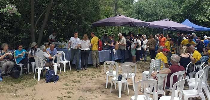 Μαζική συμμετοχή πεζοπόρων και επισκεπτών στην 4η Διάσχιση της Ρεματιάς Πεντέλης – Χαλανδρίου