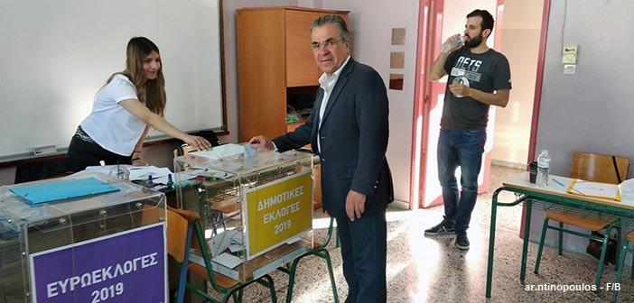 Αργύρης Ντινόπουλος: Μαζί δυνατά για τα Βριλήσσια του 2020