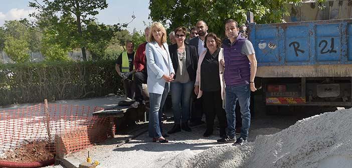 Επίσκεψη εργασίας της περιφερειάρχη Ρένας Δούρου στο Γαλάτσι