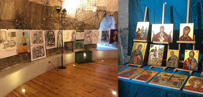 Ολοκληρώθηκε η 13η Έκθεση Εικαστικών & Εφαρμοσμένων Τεχνών στο «Καμίνι» Γαλατσίου