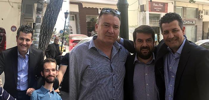 Τον Δήμο Μεταμόρφωσης επισκέφθηκε ο πολιτευτής της Ν.Δ. Σωτήρης Ησαΐας