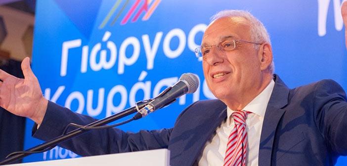 Ισχυρό προβάδισμα την πρώτη Κυριακή των εκλογών ζητεί ο Γ. Κουράσης