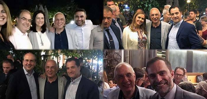 Με συμβολικό τρόπο έκλεισε την προεκλογική εκστρατεία του ο Γιώργος Κουράσης