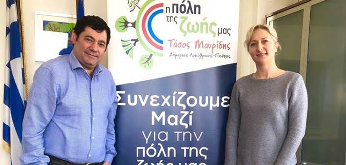 Υποψήφια κοινοτική σύμβουλος με τον Τ. Μαυρίδη η Αν. Λάγιου