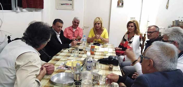 Συνάντηση Μ. Πατούλη-Σταυράκη με τον Σύλλογο Ποντίων Αμαρουσίου