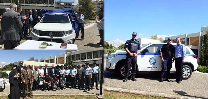 Δωρεά περιπολικού οχήματος στο Αστυνομικό Τμήμα Παπάγου-Χολαργού