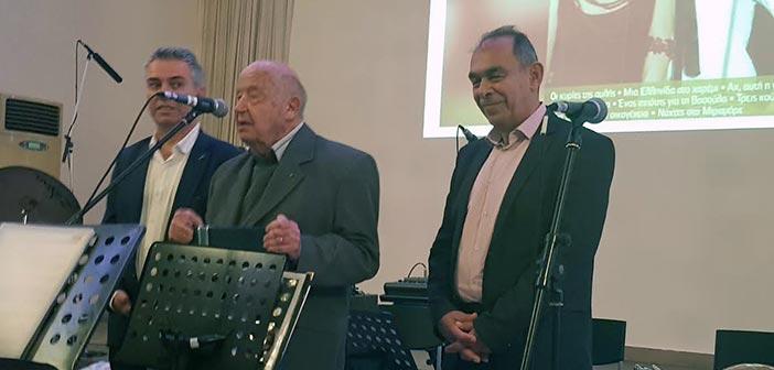 Τον Μίμη Πλέσσα τίμησε ο Δήμος Νίκαιας-Αγ.Ι. Ρέντη