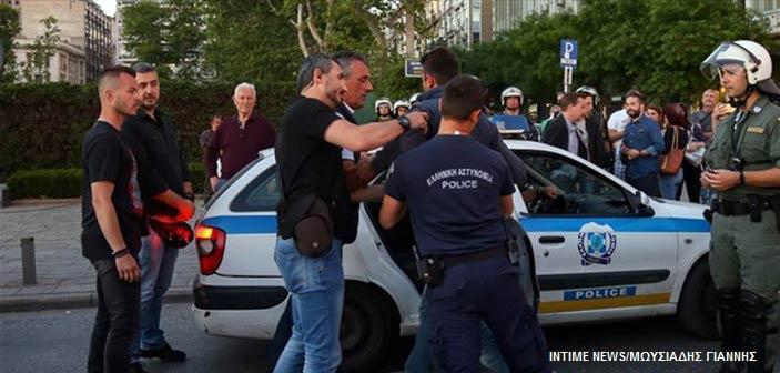 Έξι συλλήψεις στο περιθώριο της ομιλίας Τσίπρα στη Θεσσαλονίκη
