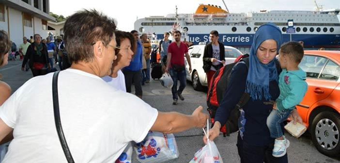 Έρευνα: Θετική η στάση των Ελλήνων απέναντι στους πρόσφυγες