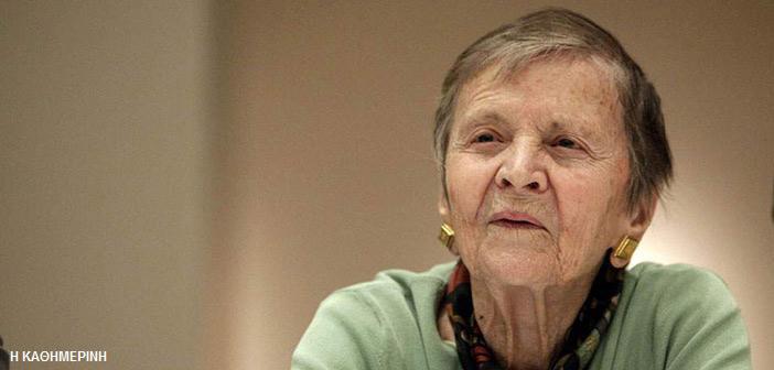 Ελένη Γλύκατζη-Αρβελέρ: Σε 100 λέξεις κατέρριψε τη δήθεν «αριστεροσύνη» κάποιων…