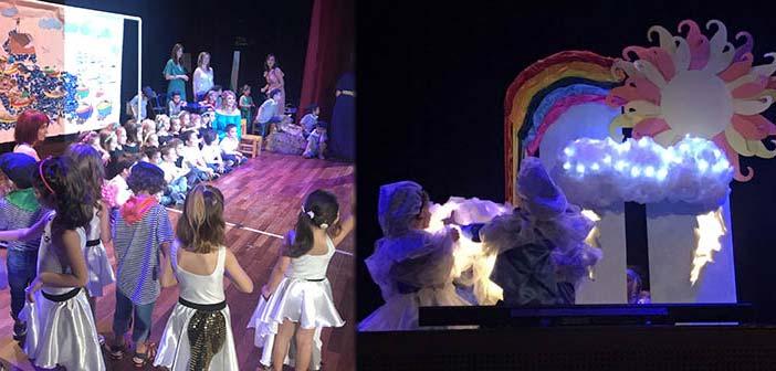 Καταχειροκροτήθηκαν τα παιδιά των Παιδ. Σταθμών Λυκόβρυσης-Πεύκης στις καλοκαιρινές γιορτές