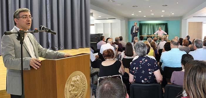 Συνεχίζει τις συναντήσεις του με πολίτες ο αναπλ. εκπρόσωπος Τύπου της Ν.Δ. Μανώλης Γραφάκος