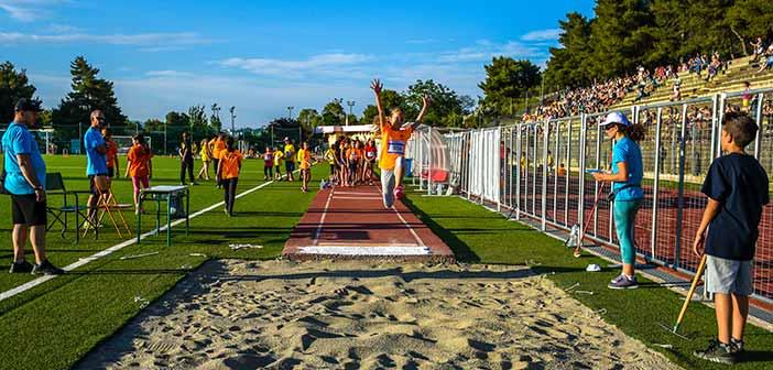 Περίπου 300 αθλητές έλαβαν μέρος στη 2η Γυμνασιάδα στο Άλσος Βεΐκου στο Γαλάτσι