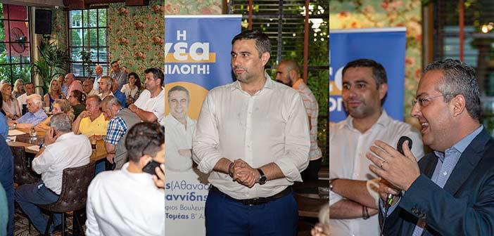 Προεκλογική συγκέντρωση Σάκη Ιωαννίδη στον Δήμο Παπάγου – Χολαργού