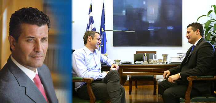 Εκτός της λίστας των υποψηφίων της Ν.Δ. στον Βόρειο Τομέα Β' Αθήνας ο Σωτήρης Ησαΐας