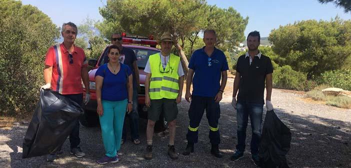 Ολοκληρώθηκαν οι δράσεις πρόληψης και φροντίδας του Δάσους Θεόκλητου στα Βριλήσσια