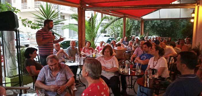 Συγκέντρωση του ΚΚΕ πραγματοποιήθηκε στο Κ. Χαλάνδρι ενόψει των εκλογών