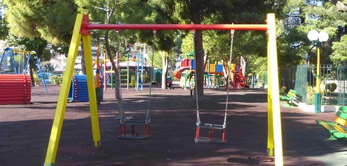 Υπεγράφη η σύμβαση για ανάπλαση των παιδικών χαρών Δήμου Αγίας Παρασκευής