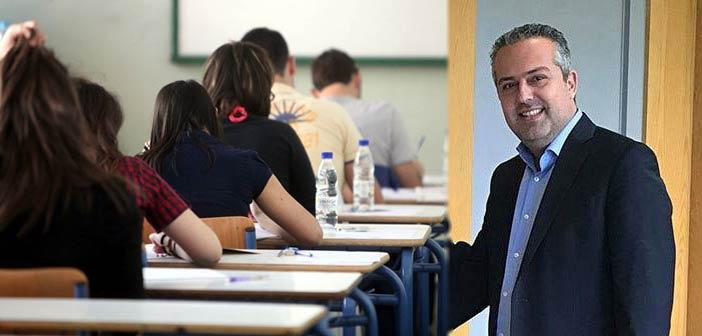 Ηλ. Αποστολόπουλος: Καλή επιτυχία στους μαθητές που δίνουν Πανελλαδικές
