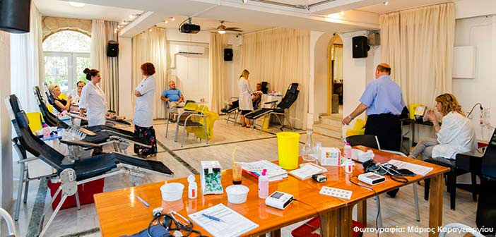 Πραγματοποιήθηκε η εθελοντική αιμοδοσία που διοργάνωσε η «Κοινωνική Μέριμνα»