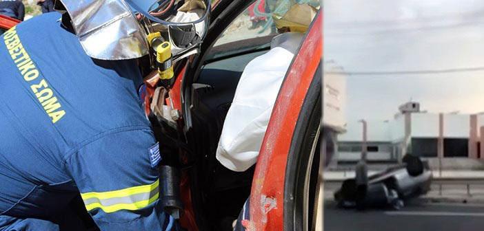 Τροχαίο με έναν τραυματία κοντά στη γέφυρα της Μεταμόρφωσης