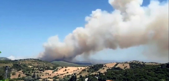 Και τέταρτη πυρκαγιά στην Εύβοια