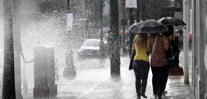Έκτακτο δελτίου καιρού: Απότομη επιδείνωση με καταιγίδες την Πέμπτη