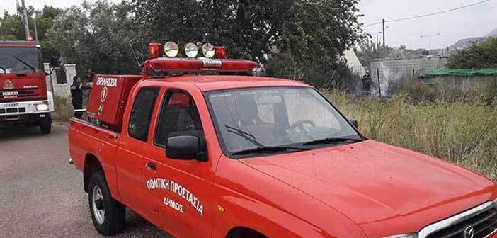 Σε 48ωρη επιφυλακή το συνεργείο Πολιτικής Προστασίας του Δήμου Λυκόβρυσης – Πεύκης