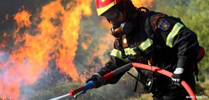 Υπό έλεγχο η πυρκαγιά κοντά στην Περιφερειακή Υμηττού, στην Αγία Παρασκευή
