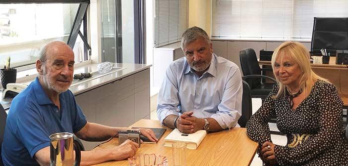 Θέματα Πολιτισμού συζήτησαν Γιώργος Πατούλης και Άννα Φόνσου