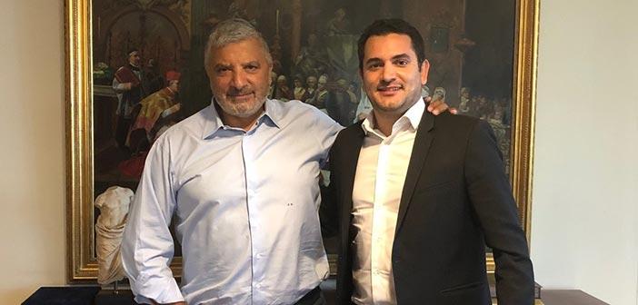 Συνάντηση Γ. Πατούλη με τον νεοεκλεγέντα δήμαρχο Αγίων Αναργύρων – Καματερού