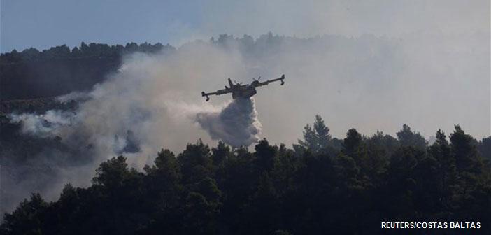 Εύβοια: Μάχη με τις φλόγες και τις αναζωπυρώσεις