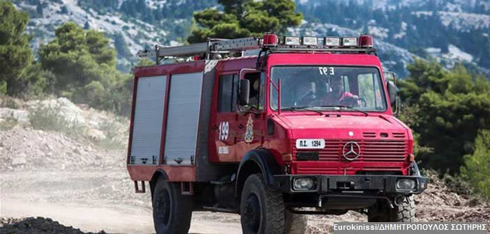 Οριοθετήθηκε η φωτιά στη Σαλαμίνα – Δεν απειλήθηκαν κατοικίες